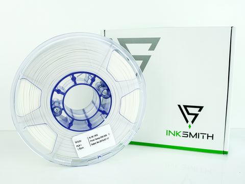 InkSmith PLA 3D Printing Filament White