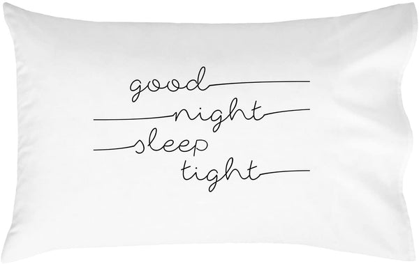 Oh, Susannah Good Night Sleep Tight 18x18 Inch Throw Pillow Cover Kids Room Decor