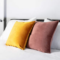 Plain Throw Pillow Cushion Inserts: White Square Throw Pillows for Couch, Sofa, Bed - 20 Inch x 20 Inch Pillow Insert, Set of 2 - Euro Accent Pillow Stuffers for Sham Covers - Large Filler Cushions