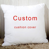 Custom Throw Pillow Cover Personalized Pillow case, Your Custom Design, Customized Quote Accent Cushion Case,Household Gifts 18""