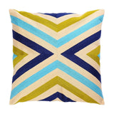 Yitun Cotton Embroidered Throw Pillow Cases Shams Farmhouse Outdoor Couch Decorative Accent Striped Geometric Lumbar Protectors