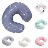 Newborn Pillow Case Printing U-shaped Pillowcase Nursing Baby Breastfeeding Pillow Cover Soft Cotton Pillow Cover Slipcover Gh6