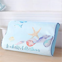 hot selling Latex Pillow Pillow Case Single Only Dress Memory Pillow Case 50x30 Children Student A Towel high quality fashion