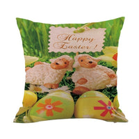 LUDA 45X45Cm Pillow Case Party Supplies Cotton Linen Easter Gift Baby Children Birthday Gift