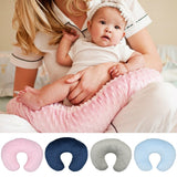 Travel U-shaped pillow Coral Fleece Neck Pillow U Shaped Travel Pillow Car Head Neck Rest Cushion for baby