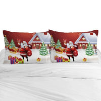 3D Cartoon Pillow Case for Children/Baby,Kids Pillowcase 45x45/50x70,Decorative Pillow Cover Bedding Christmas santa claus gift