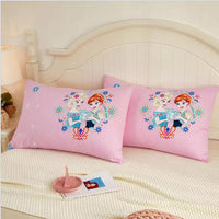 48x74cm Disney Frozen Pillowcase Mickey Winne cover Home Textile Children Baby Girl Cover Decorative Pillows Case Living Room