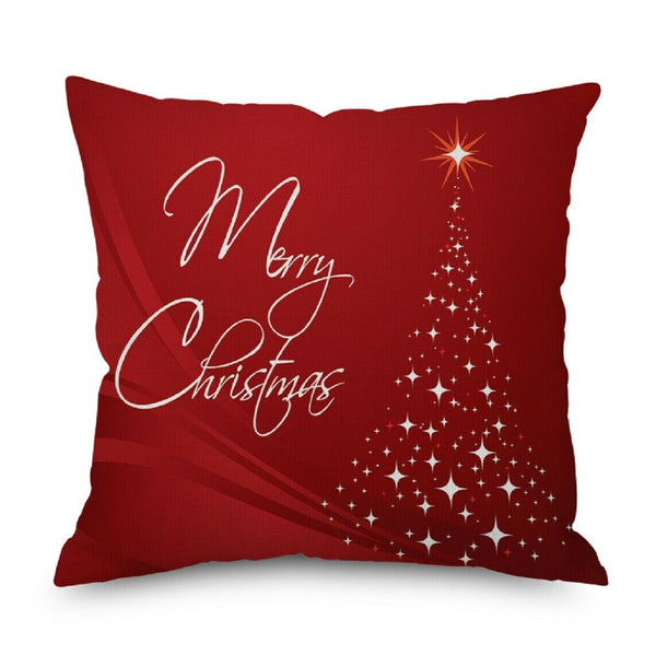 "1 Pcs Merry Christmas Decorative Chair Sofa Bed Linen Pillowcases,17.7""*17.7"""