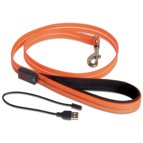 Ultrahund Orange LED Waterproof Lead