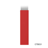 Flat Red Shading Blade (20pcs/Box)