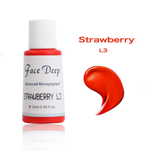 Face Deep Semi Cream Pigments for Lips (L3 Stawberry)