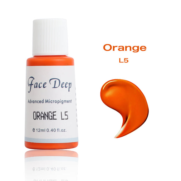 Face Deep Semi Cream Pigments for Lips (L5 Orange)