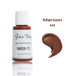 Face Deep Mixing Semi Cream Pigments(M2 Maroon)