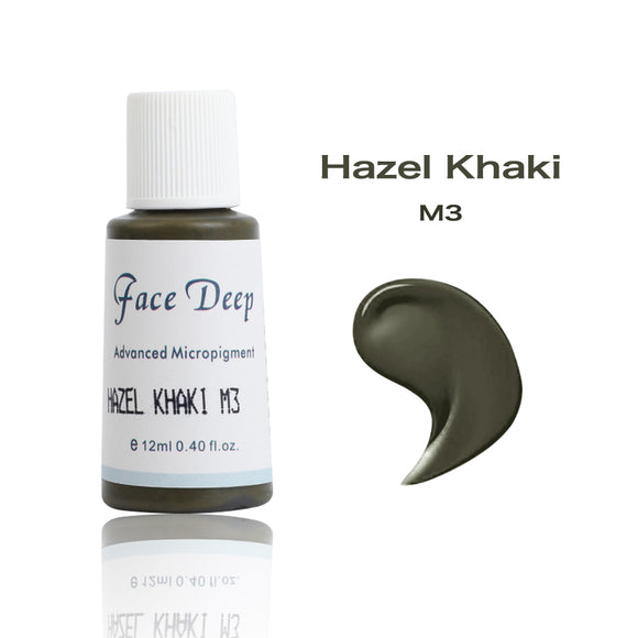 Face Deep Mixing Semi Cream Pigments(M3 Hazel Khaki)