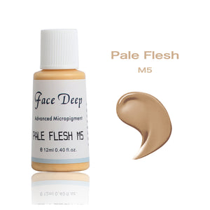 Face Deep Mixing Semi Cream Pigments(M5 Pale Flesh)