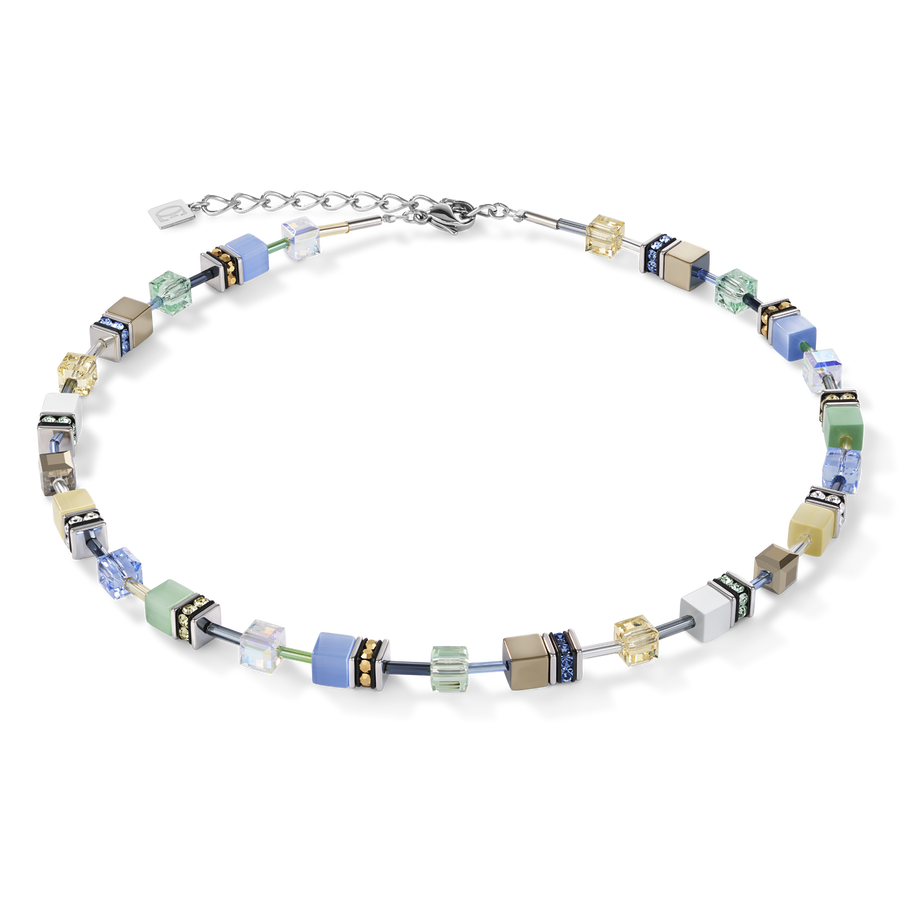 GeoCUBE® Necklace multicolour gentle