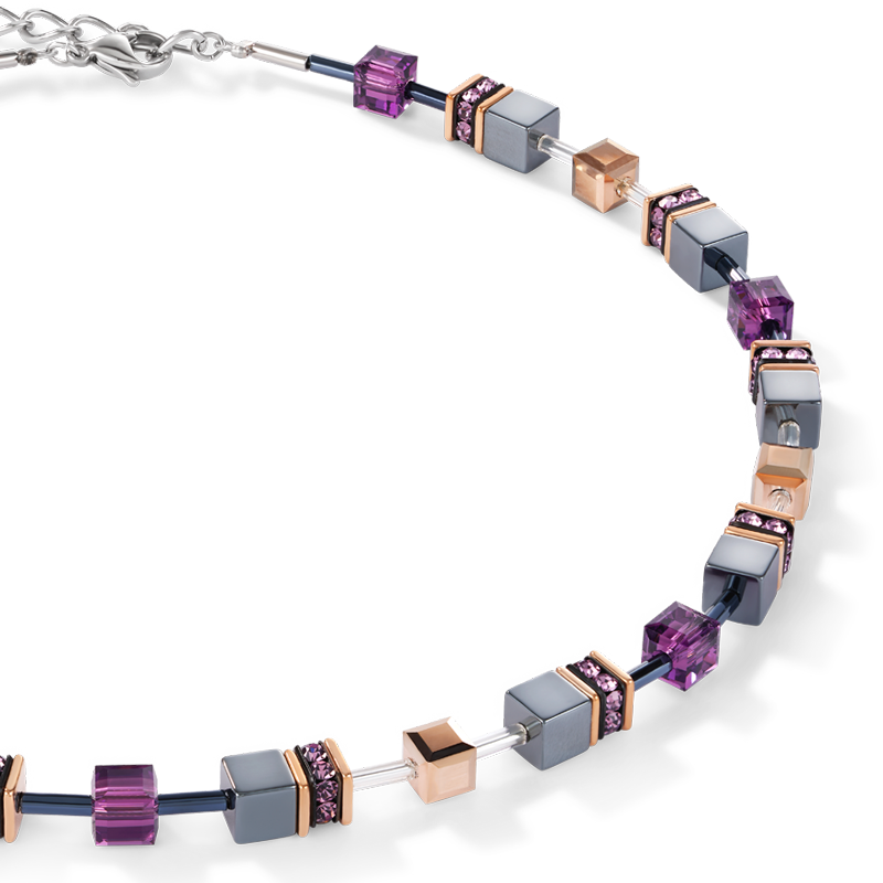 GeoCUBE® Necklace amethyst