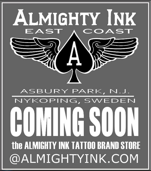 Almighty Ink Tattoo Brand Announcement