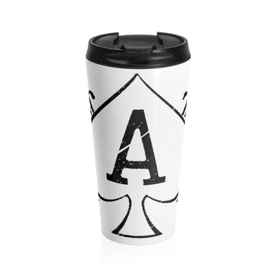 Spade and Cutlass Travel Mug