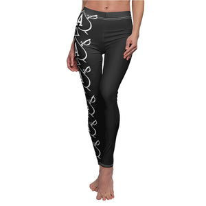 Women's Almighty Ink Spade & Cutlass Casual Leggings