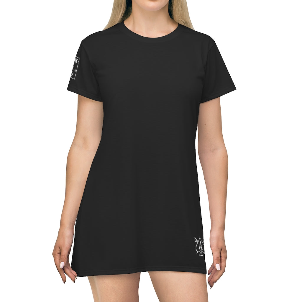 Almighty Ink Skinny Minnie T-Shirt Dress