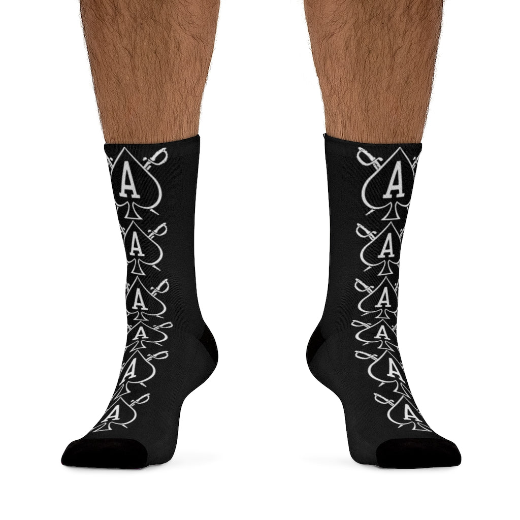 Almighty Ink 'Lucky 6'  socks