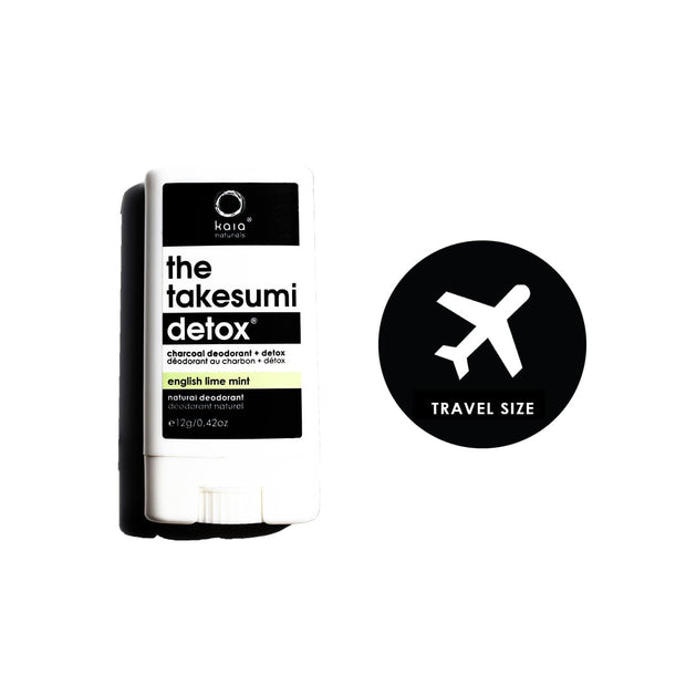 Lime Mint Charcoal Deodorant - Travel Size