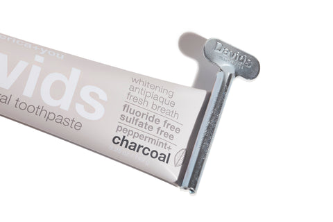 Premium Natural Toothpaste - Peppermint + Charcoal