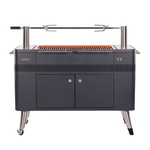 Houtskool barbecue Hub van Everdure by Heston Blumenthal met elektrische ontsteking. My Cool Kitchen is premium specialist in Everdure by Heston Blumenthal.