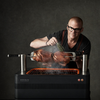 Houtskool barbecue Fusion van Everdure by Heston Blumenthal met elektrische ontsteking. My Cool Kitchen is premium specialist in Everdure by Heston Blumenthal.