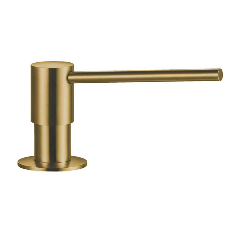 Dit is de Lanesto zeeppomp rond in gold.