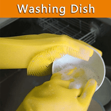 Load image into Gallery viewer, Dish Washing Cleaning Sponge Gloves