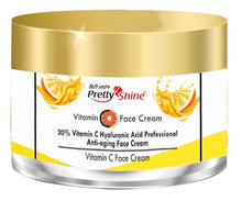 Load image into Gallery viewer, Vitamin C, E & Hyaluronic Acid DePigmentation Cream, 50g - Brightening & Tan Removal