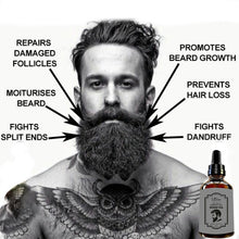 Load image into Gallery viewer, Beard Growth Oil - Groom Your Beard