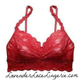 COSABELLA SOFT BRA-red poinsettia