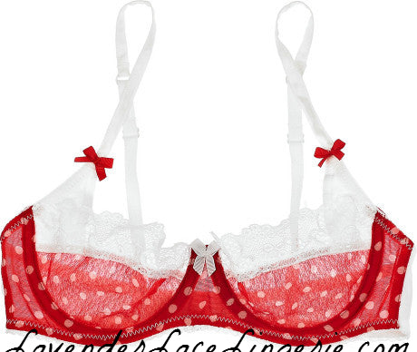Mimi Holliday by Damaris-Pericolo Red Dot Bra