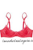 Red frappe Bra-Molded-Mimi Holliday