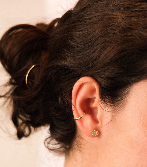 Ear Cuff, Gold Filled Ear Cuff, Sterling Silver Ear Cuff, Ear Wrap Earring, Minimalists Jewelry, Modern Jewelry.