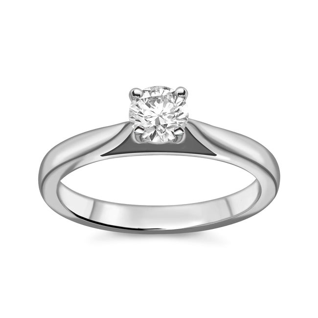 0.30ct Round Brilliant Cut Diamond Ring