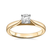 0.35ct Round Brilliant Cut Diamond Ring