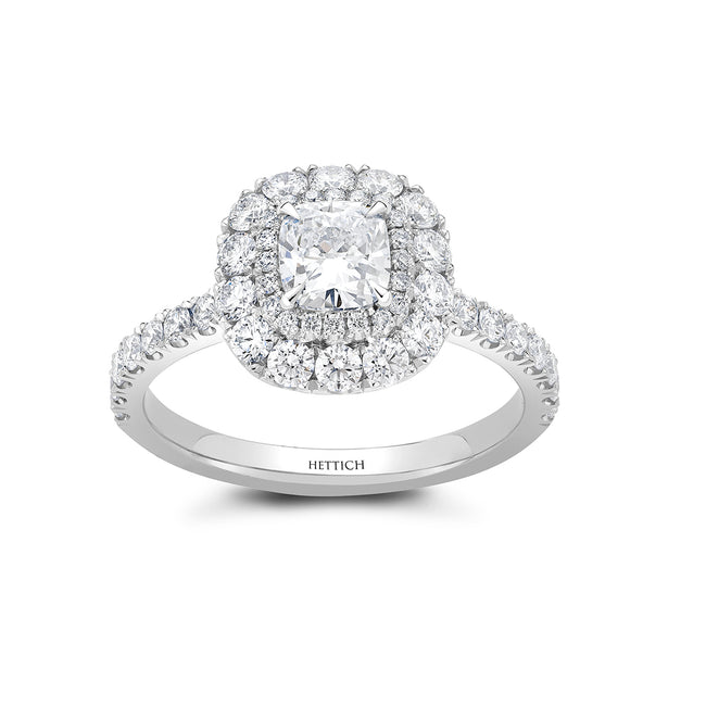 1.23ct Diamond Cluster Ring