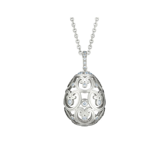 Fabergé Imperatrice Diamond White Gold Pendant