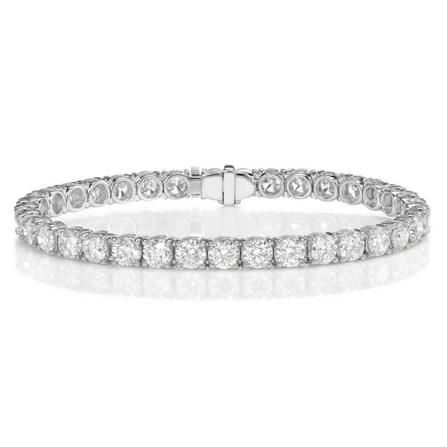 Diamond 14.04ct Line Bracelet