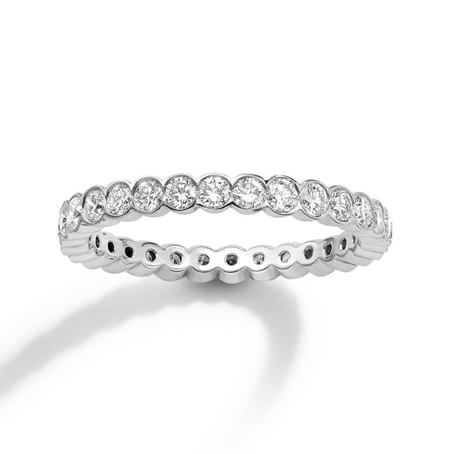 1.18ct Round Brilliant Diamonds Full Eternity Ring