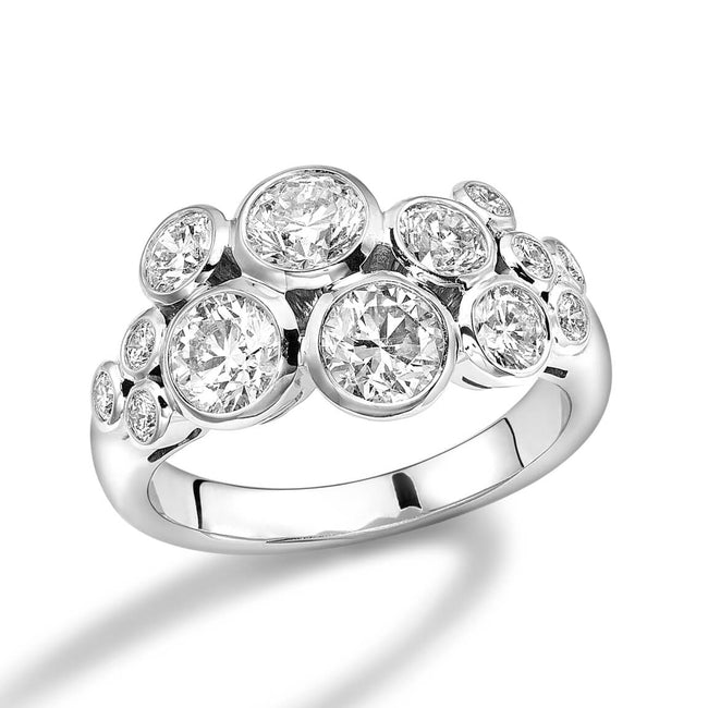 Diamonds 2.21ct Dress Ring