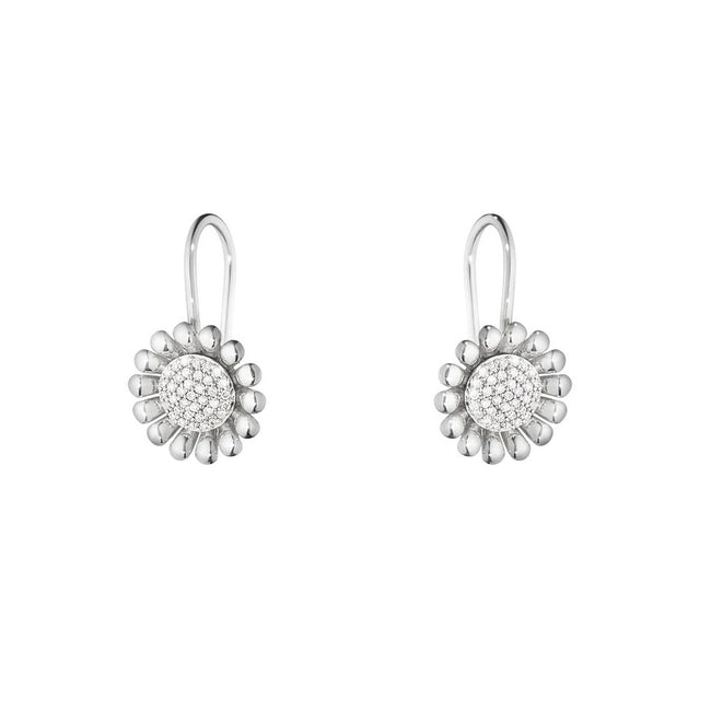 Georg Jensen Sunflower Hook Earrings 10009397