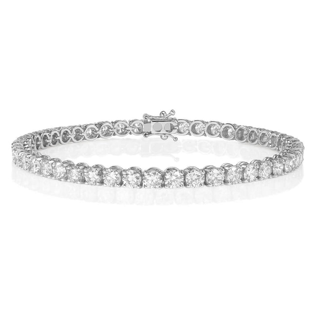Diamond 0.97ct Line Bracelet