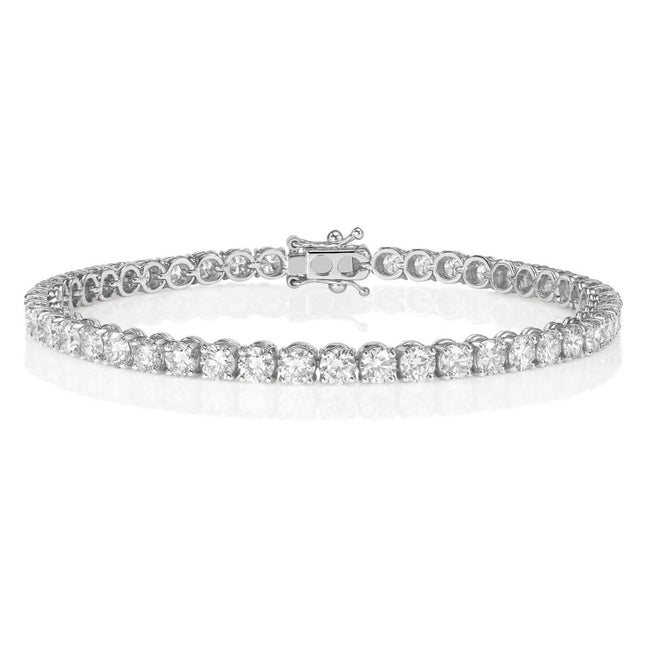 Diamond 4ct Line Bracelet