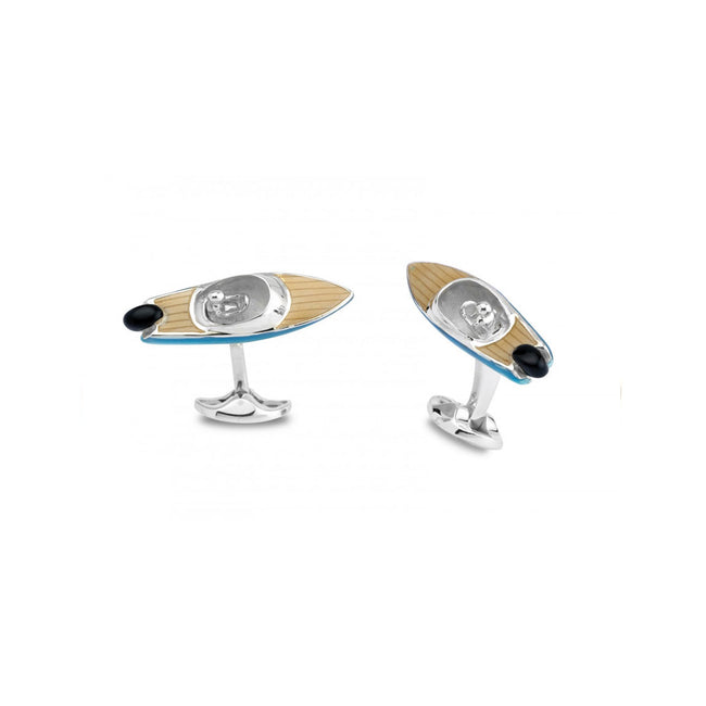 Deakin & Francis Speed Boat Cufflinks