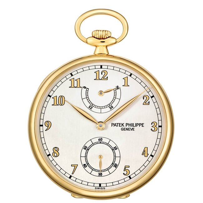Patek Philippe 972-1J-010 Open-face pocket watch